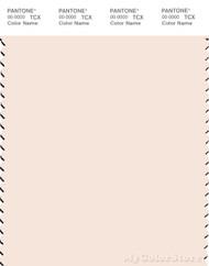 PANTONE SMART 12-1106X Color Swatch Card, Sheer Pink