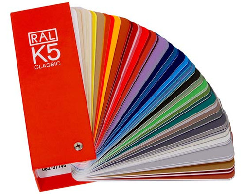 RAL K5 Classic Colour Guide | RAL Color Card