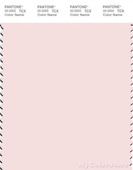 PANTONE SMART 12-1305X Color Swatch Card, Heavenly Pink