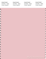 PANTONE SMART 12-1708X Color Swatch Card, Crystal Rose