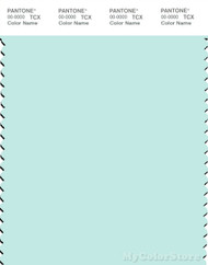 PANTONE SMART 12-5209X Color Swatch Card, Soothing Sea