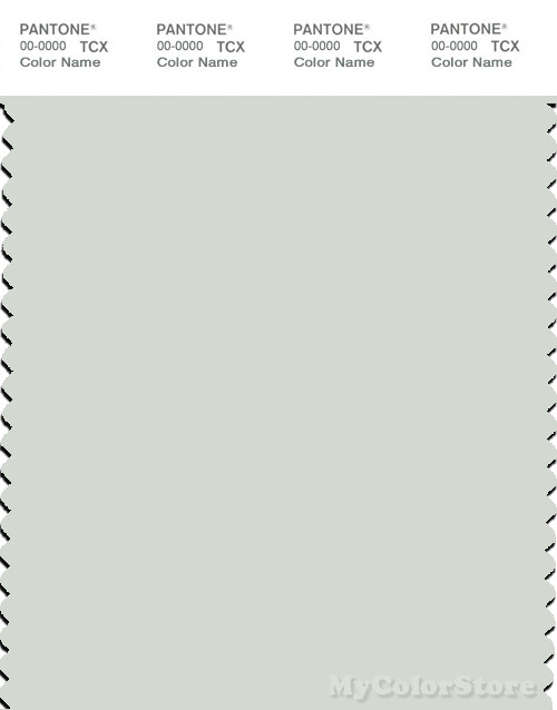 PANTONE SMART 12-5603X Color Swatch Card, Zephyr Blue