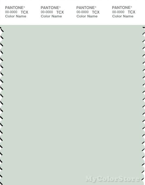 PANTONE SMART 12-6205X Color Swatch Card, Milky Green
