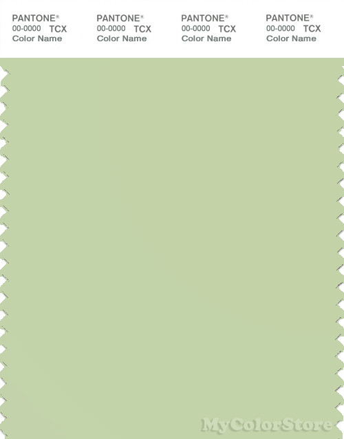 PANTONE SMART 13-0215X Color Swatch Card, Reed
