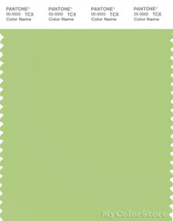PANTONE SMART 13-0331X Color Swatch Card, Sap Green