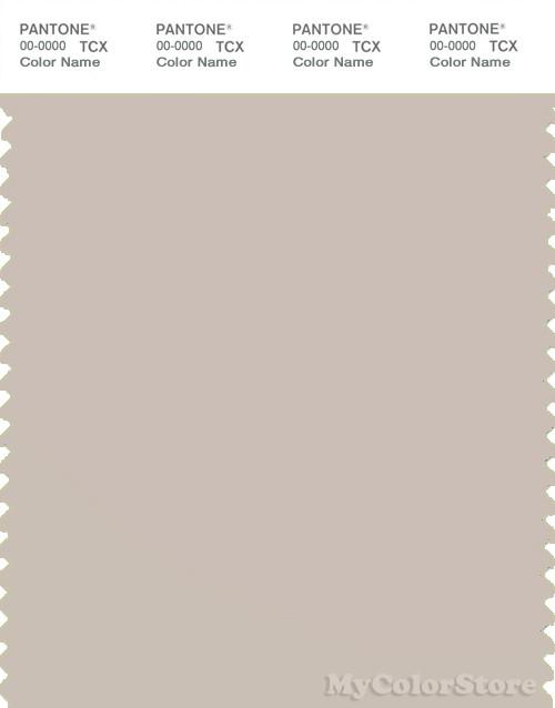 PANTONE SMART 13-0403X Color Swatch Card, Gray Morn