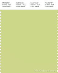 PANTONE SMART 13-0530X Color Swatch Card, Lime Sherbet