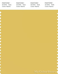 PANTONE SMART 13-0739X Color Swatch Card, Cream Gold