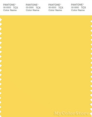 PANTONE SMART 13-0756X Color Swatch Card, Lemon Zest
