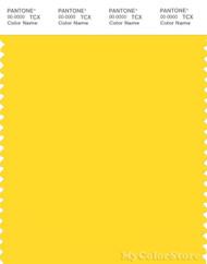 PANTONE SMART 13-0858X Color Swatch Card, Vibrant Yellow