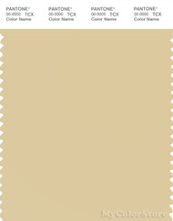 PANTONE SMART 13-0915X Color Swatch Card, Reed Yellow