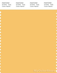 PANTONE SMART 13-0940X Color Swatch Card, Sunset Gold