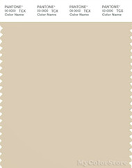 PANTONE SMART 13-1008X Color Swatch Card, Bleached Sand