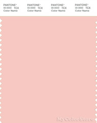 PANTONE SMART 13-1409X Color Swatch Card, Seashell Pink