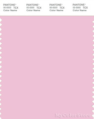 PANTONE SMART 13-2806X Color Swatch Card, Pink Lady