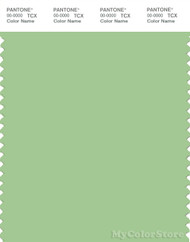 PANTONE SMART 14-0123X Color Swatch Card, Arcadian Green