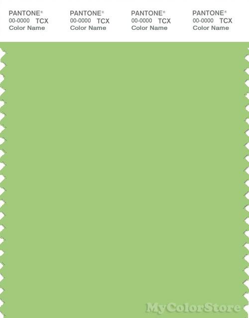 PANTONE SMART 14-0232X Color Swatch Card, Jade Lime