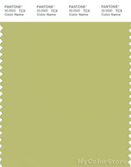 PANTONE SMART 14-0434X Color Swatch Card, Green Banana