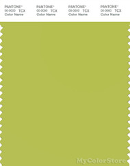 PANTONE SMART 14-0445X Color Swatch Card, Bright Chartreuse