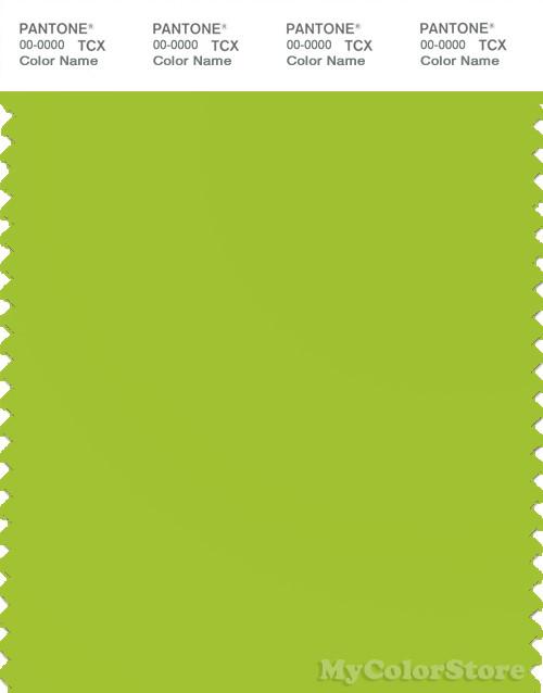 pantone smart 14 0452 tcx color swatch card pantone lime green