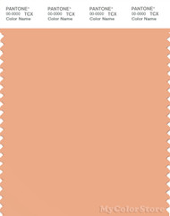 PANTONE SMART 14-1224X Color Swatch Card, Coral Sands