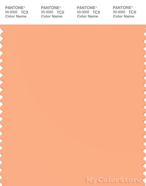 pantone smart 14 1230 tcx color swatch card pantone apricot wash