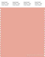 PANTONE SMART 14-1318X Color Swatch Card, Coral Pink