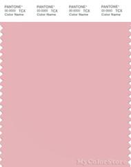 PANTONE SMART 14-1909X Color Swatch Card, Coral Blush