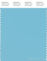 PANTONE SMART 14-4310X Color Swatch Card, Blue Topaz