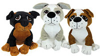 Cute Soft Toy Dogs