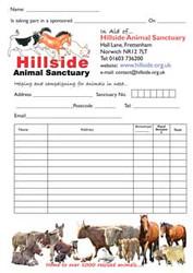 Hillside Sponsorship Form