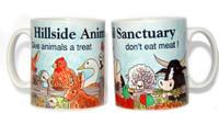 'Give Animals a Treat' Hillside Mug