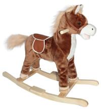 Neighing Rocking Horse (Brown)