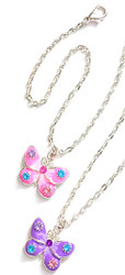 Pretty Butterfly Necklace