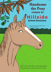 Handsome the Pony & Primrose Piglet Colouring Books with 12 Colour Pencils
