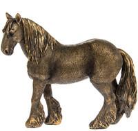 Bronzed Shire Horse Ornament