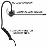 Comfit® Noise Canceling Boom Microphone for Sonim XP5s & XP8 Phones