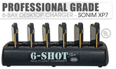 6-Shot Slim Charger for Sonim XP7