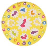 Super Fun Penis Party Plates