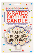X-Rated Birthday Party Candle