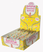 Super Fun Penis Candy Necklace display pack