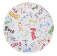Dirty Dishes: F-Bomb Style Plates