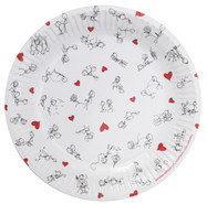 Dirty Dishes: Stick Figure Style Plates