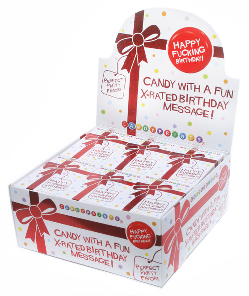 X-Rated Birthday Candy 24 pack