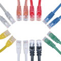 7ft Cat6 1GHz Gigabit Network Cable, RJ45, Copper, Molded, UTP RoHS Compliance