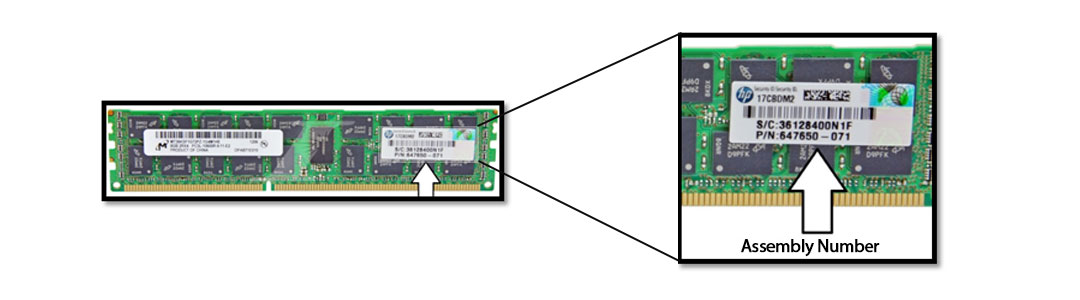 hpe serial number tracking