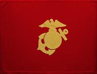 Marine Corps Guidon Unframed 04x07