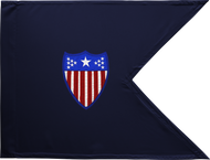 Adjutant General Corps Guidon Unframed 20x27 (Regulation)