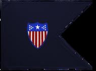 Adjutant General Corps Guidon Framed 11x14