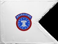Army Recruiting Guidon Framed 24x31 (Regulation)